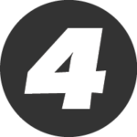 Number 4 icon_digs design
