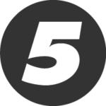 Number 5 icon_digs design